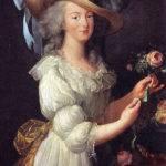 Marie Antoinette in Mousseline-Kleid